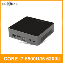 Intel i7 6500U i5 6200U Skylake PC HTPC Mini PC Desktop Computer Nuc HD Graphics 520 Type-C USB3.0 AC Wifi Bluetooth 4.0