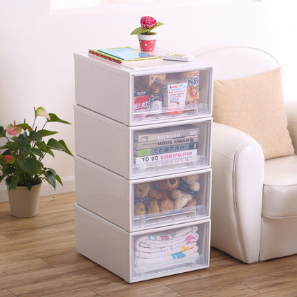 plastic drawer cabinets,Drawer locker, wardrobe boxes, clothing box, plastic storage cabinets with drawers(China (Mainland))