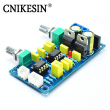 CNIKESIN DIY Kit Ne5532 Fever Low Pass Filter Front Panel Super Bass Sound Palette HI-FI Low Pass Circuit Board Tone Board Pream(China)