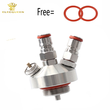New 304 Stainless Steel Mini Keg Tap Dispenser For Craft Beer brewing fitting For 2L/3.6L/5L