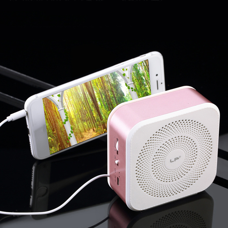 Outdoors speaker portable speaker Cell Phone Stand Creative bluetooth 4.1 Speaker Mini Speaker for Xiaomi iPhone(China)