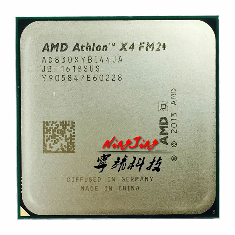 AMD Athlon X4 830 3.0 GHz Quad-Core CPU Processor AD830XYBI44JA Socket FM2+