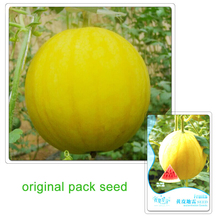 6 Particles / Bag Original Packaging Watermelon Seeds Yellow Shell Watermelon of Fruits and Vegetables Seeds