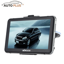 "KKmoon 7"" HD Touch Screen Car GPS Navigator 128MB RAM 4GB ROM FM MP3 Video Player Entertainment System Handwriting Pen Free Map"