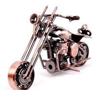 Handmade metal model motorcycles Iron Motorbike Models Metal Craft for Man Gift Business Gifts Home Decoration Free Shipping
