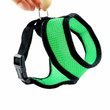 10 Colors Dog Collar Harness Cat Pet Safe Control Easy Soft Walking No Pull Tug Free Service Vehicle Seatbelt Safety Strap Vest