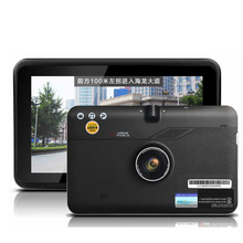 car 7 inch GPS Android GPS Navigation DVR 16GB Disk Tablet Digital Video Recorder WiFi Internet Capacitive Touch Screen Free Map(China)
