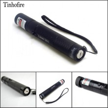 Tinhofire laser 301 High Power 532nm 200mW Green Laser Pointer Pen zoomable Burning Matches Lazer