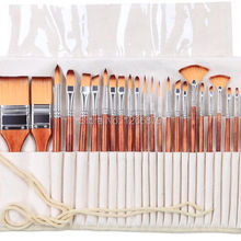 Art-Brush-Set Pencil-Case Paint Acrylic Drawing with for And 2281 24pc/Set