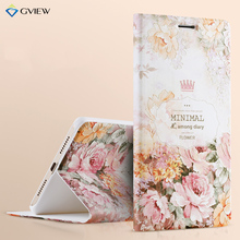 Gview 3D Relief Pattern PU Leather Intelligent Sleep Flip Cover Case For Xiaomi Mi Max 6.44 inch Stand Function Smart Phone Bag(China)