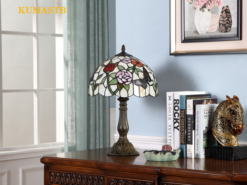 Stained Glass Desk Lamp 13