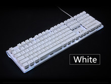 Black white Cherry MX Keycaps 108 PBT Keycap OEM Profile For MX Switches Mechanical Keyboard Gaming Keyboard