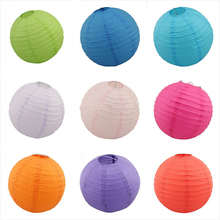 10pcs/lot 8''10''12''(20/25/30cm) Chinese paper lantern home and party decoration wedding decoration wedding lantern(China)