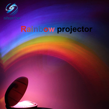 Amazing Baby Kids Children Child LED Rainbow Light Colorful Romantic Christmas Night Light Projector Lamp for Sleeping Bedroom