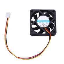 Portable DC 12V 6cm PC Cooling Fan Oil Bearing 3Pin Connector P4 Single Fan for Computer PC