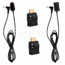 New IR Extender Over HDMI Remote Control Extender Receiver Transmitter Cable Kit