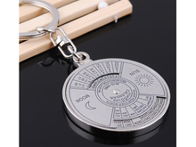 2 Styles Unique Compass Rudder Helm Abacus Key Chain, Glossy Alloy Keychain Keyrings Best Gifts