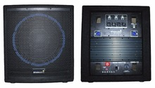 "STARAUDIO SWD-12 1Pc Pro Active /Powered Stage 4000W 12"" 4ohm PA DJ Wooden Club Subwoofer(China)"