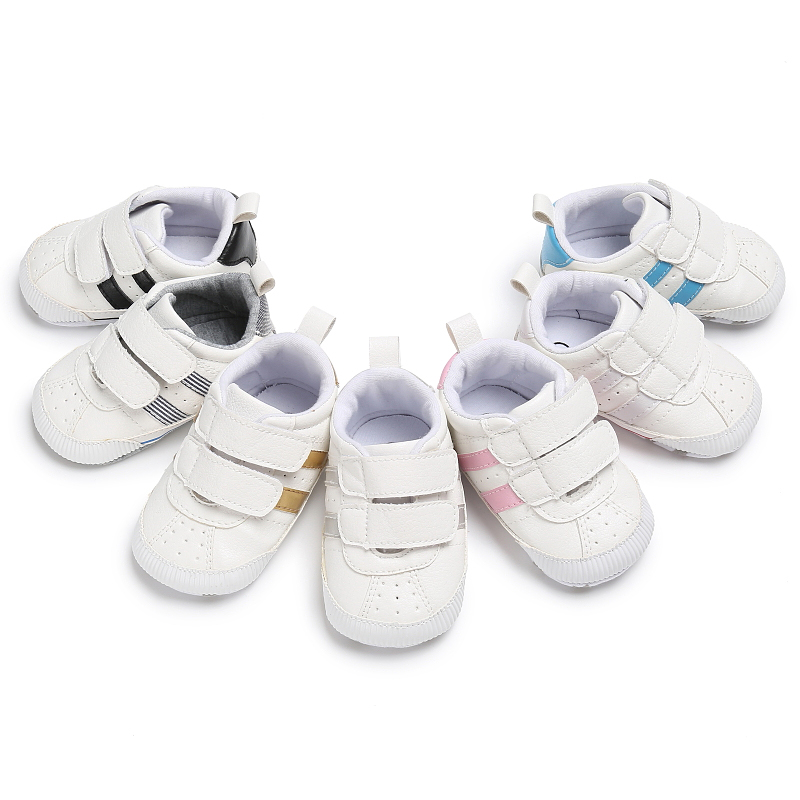 Fashion PU Leather Baby Moccasins Newborn Baby Shoes For Kids Sneakers Infant Indoor Crib Shoes Toddler Boys Girls First Walkers 3