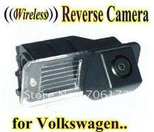 WIRELESS Special Car Rear View camera Reverse rearview Camera parking backup for VW Volkswagen Polo V (6R)/ Golf 6 VI/ Passat CC