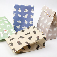 12 sets paper bag cat theme wedding birthday gift packaging party candy holding