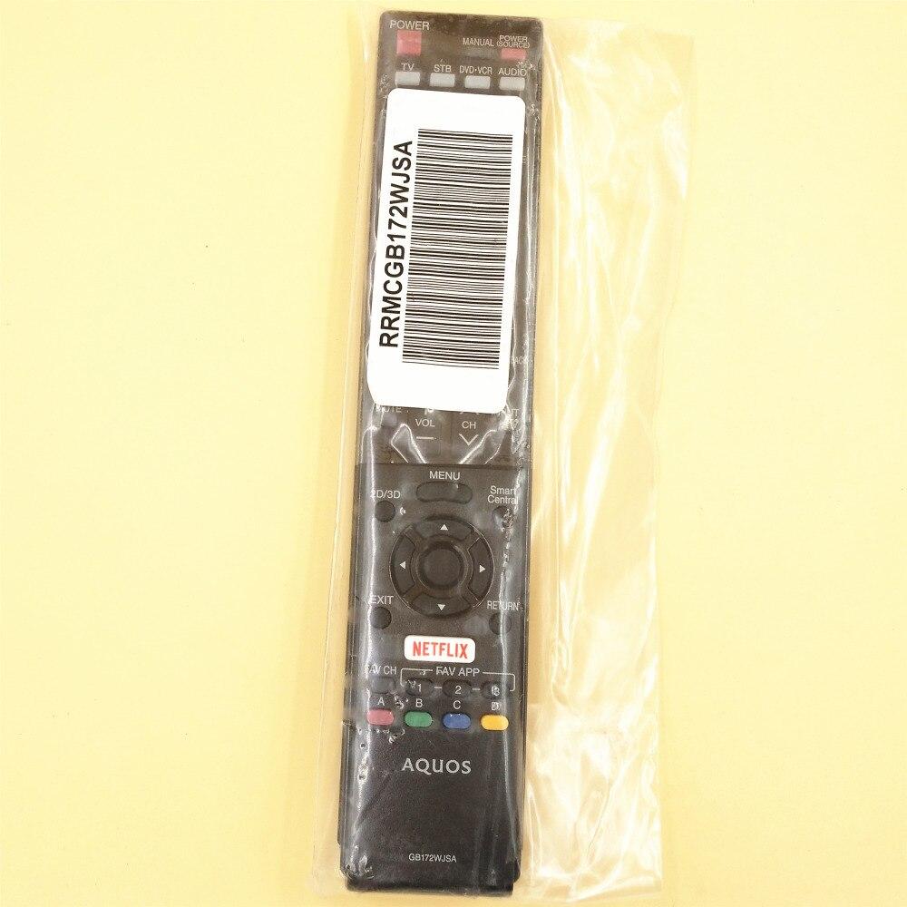 New Sharp Aquos GB172WJSA LED TV Remote Control Controller