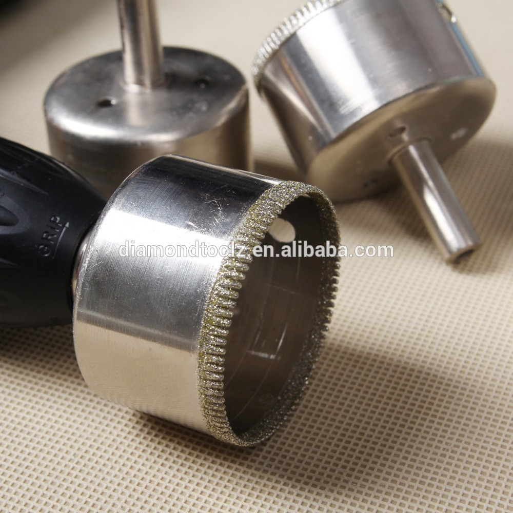 Talentool Free Shipping 60mm(2.36)  Electroplated Diamond Drill Bit for Drilling Holes on Glass Tile Ceramic Hole Saw<br><br>Aliexpress