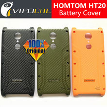 HOMTOM HT20 Battery Cover 100% Original New Durable Hard Protective Back Case HOMTOM HT20 Pro Mobile Phone
