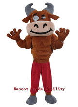 High quality Muscle Bull Mascot Suit Make Adult Bull costumes