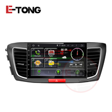 New Car Head unit GPS Navigation for Honda Accord 9 2013-2015 Full Touch Screen Bluetooth USB SD Radio RDS AUX Steering-wheel(China)