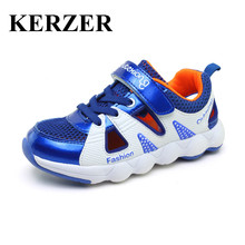 Hot 2017 New Children Shoes Running Girls Sport Sneakers Summer Kids Trainers Boys Walking Shoes Breathable Kd Shoes Cheap