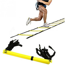 3.5M 5M 5.5M 7M 7-13 Pieces Rung Durable Agility Ladder Soccer Speed Football Fitness Feet Sport Training(China)