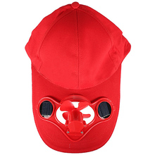 SYB Solar Sun Power Hat Cap Cooling Cool Fan