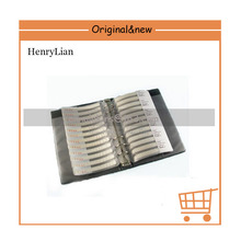 HENRLIAN YAGEO 0805 SMD 5% Resistor sample book, 177 values X 50pcs=8850pcs, , Samples kit guarranty(China)