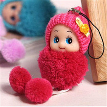 Kids Plush Stuffed Toys Soft Interactive Baby Dolls Toy Mini Doll For girls and boys Free Shipping(China)