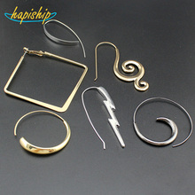 Hapiship 2017 New Hot 18Style Fashion Women's Jewelry Cool Hoop Earring XMAS Gift For Girls Lady 00ZZZZ