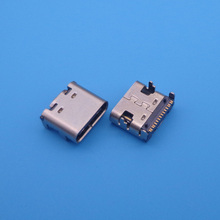 2pcs/lot 16 Pin 16pin USB Female socket Connector for repair mobile camera MP3 MP4 MP5 Phone, Tablet PC Netbook etc