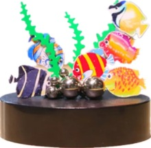 Magnet Magnetic Sculpture The Underwater World Fish Endless Combination Stacking Toy/Birthday Gift Office Decompression Toy