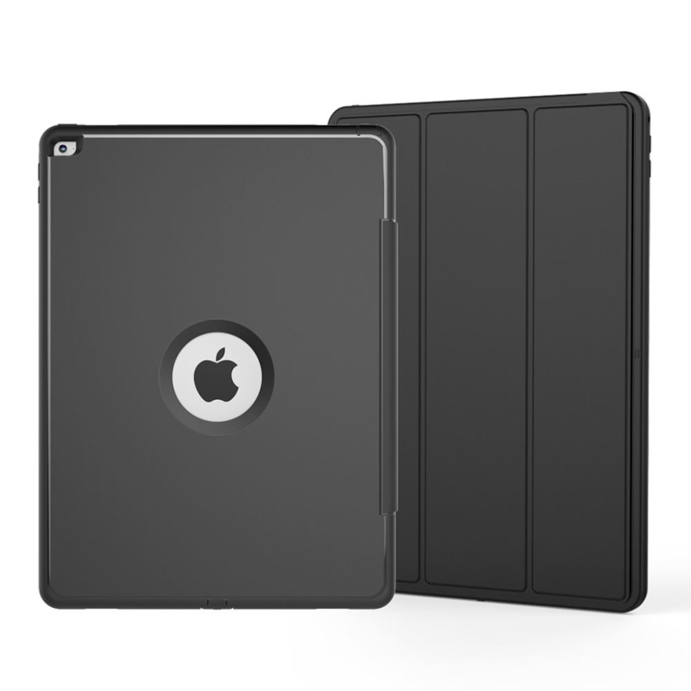 XMB05 Auto Sleep And Wake Cover for iPad BLK (2)