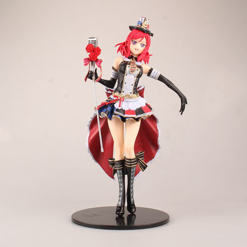 Anime Love Live! School Idol Festival Maki Nishikino Sexy Maid Ver. PVC Action Figure Model Kids Toys Doll 29cm<br><br>Aliexpress