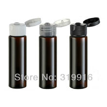 free shipping 30ml brown  flip  top perfume oils bottle  wholesale  bottle suppliers  100pc/lot
