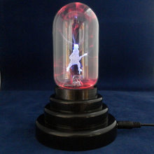 Novelty Guitar electrostatic ion ball Magic ball Usb night light 10 * 10 * 13.5CM glass Push Button USB powered multi-color(China)