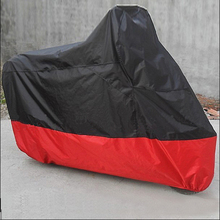 XXL Size Motorcycle Cover Outdoor Waterproof  Electric Bicycle Scooter Covers Motor Rain Coat Cover 264*105*124cm