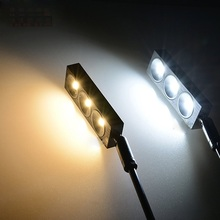 3W led cabinet spot lamp ,85-265Vac led stud lamp, counter light ,lamp for pearls and jewels ,gold ,led exhibition lamp