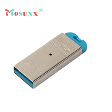 Mosunx Simplestone USB 2.0 Flash Memory Card Reader All-in-One SD/SDHC Micro-SD/TF MS-Duo M2 0216(China)