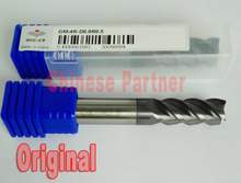 1pc Original ZCC.CT GM-4R-D8.0R0.5 8mm 4 flutes Cemented Carbide  Corner Radius endmill CNC router bit milling cutter tools