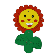 Draw Game Art Supplies for Kids DIY Craft Painting Cardboard Drawing Decoration Sunflower Educational Toy Children Creative Gift(China)