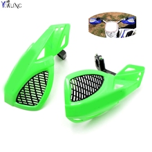Dirt bike Motorcycle 7/8''22mm handlebar brake hand guard For Kawasaki KX250F KX450F KX500 KX60 KX65 KX80 KX85
