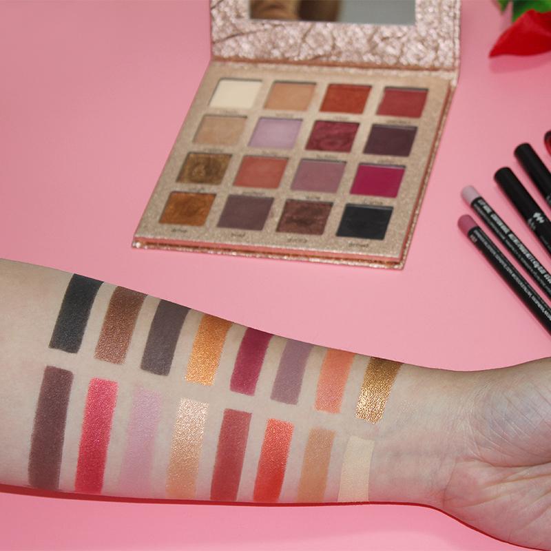 IMAGIC Nouvelle Arrivée Charme 16 Couleur Palette Make up Poudre 9