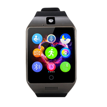 Q18 Smartwatch Bluetooth Smart Wrist Watch With Camera Touch Screen Smart watch Sleep Monitor TF SIM Card for Android IOS Phone(China)
